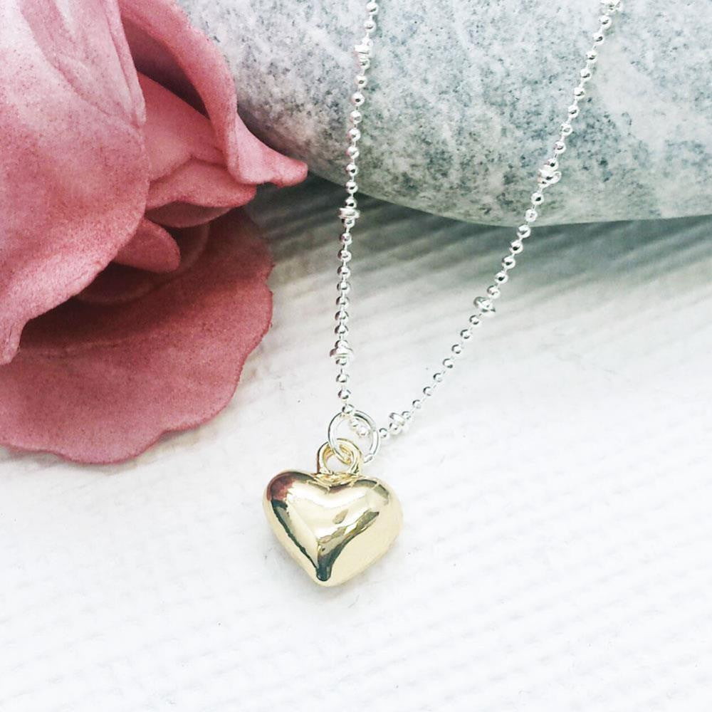 Life Charms Have A Heart of Gold Necklace