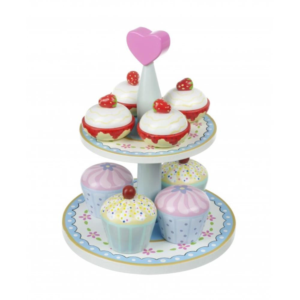 Orange Tree Toys Kitchen Cream Tea Set