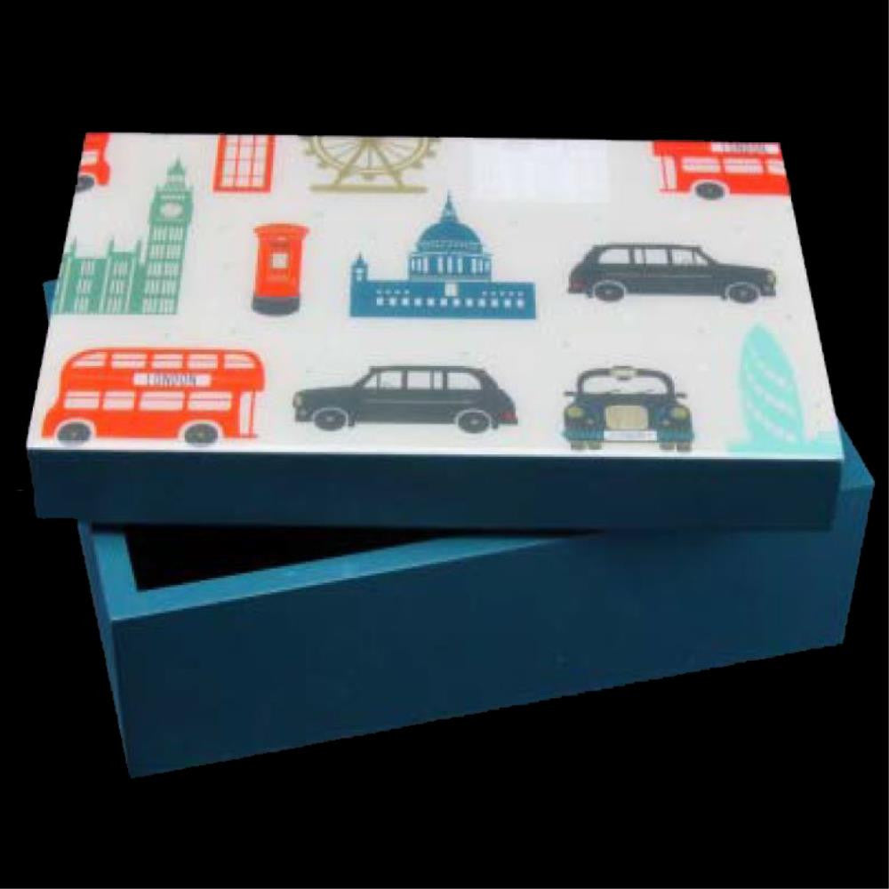 Laminated Wood London Box