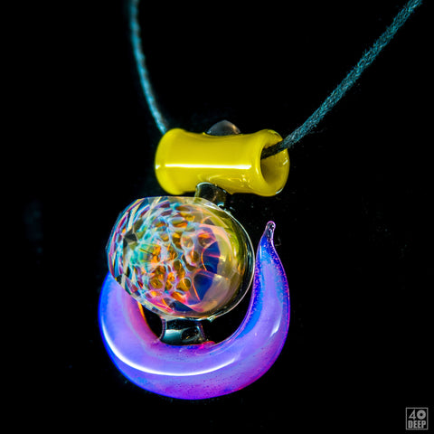 Alejandro x PHD Glassworks Faceted Pendant