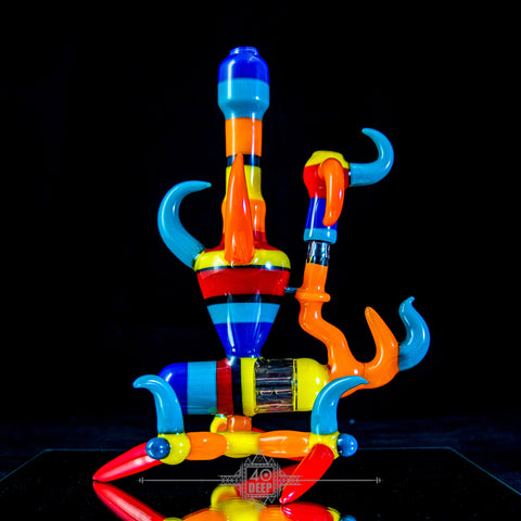 Blitzkriega blue dream balloon dog
