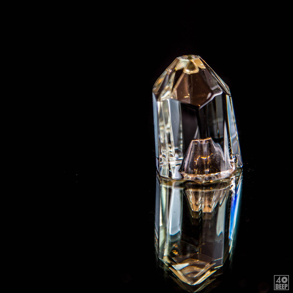 Inkz Clear Crystal Carb Cap