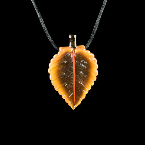 Jupiter Nielsen Fall Leaf Pendant
