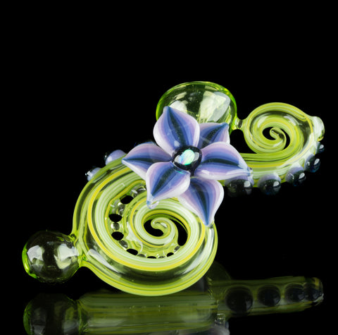Blossom Glass UV Green Sherlock