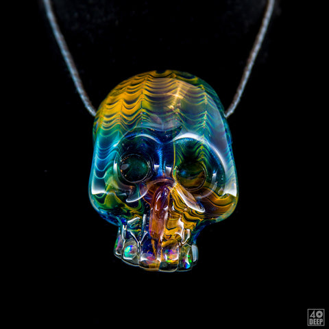 Carsten Carlile Fume Opal Grill Skull Candy