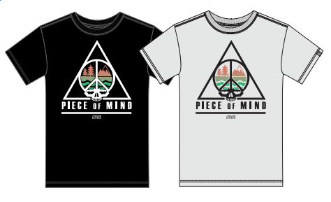 Apparel | Casual Industrees LE Piece of Mind Mountain T-Shirt