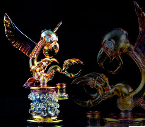 "Ease Glass ""OLDSCOOL Fume Beaker"""