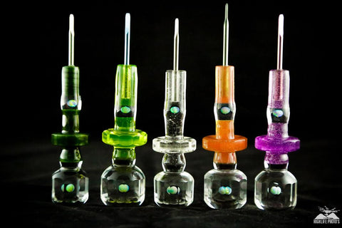 Lucky faceted dabbers