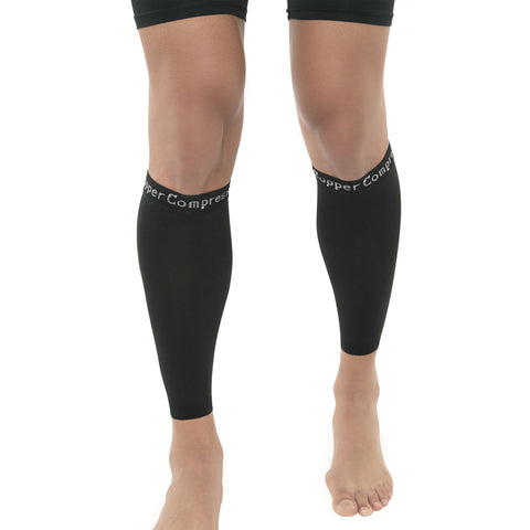 Copper Compression Recovery Calf Sleeves