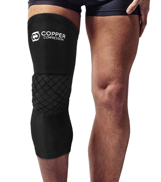 Copper Compression Volleyball Knee Pads + Basketball Knee Pad + Multi-Purpose Work Sleeve