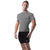 Copper Compression Mens Short Sleeve T-Shirt in Grey