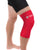 Copper Compression Colored Knee Sleeve in Red