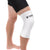 Copper Compression Colored Knee Sleeve in White