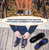 Copper Compression Flat Feet Foot Insoles