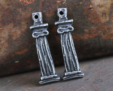 Handcrafted Jewelry Charms, Handmade Charms, Pewter Charms, Jewelry Making Charms, Earring Charms, Hand Cast Charms No. 95-CD