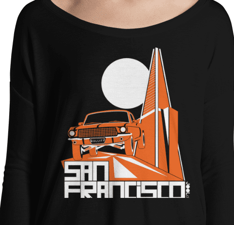 San Francisco Trans Bullitt Ladies' Long Sleeve Tee