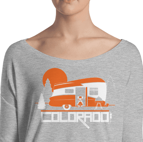 Colorado Camping Pupster Ladies' Long Sleeve Tee