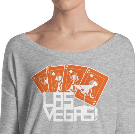 Las Vegas Card Shark Ladies' Long Sleeve Tee