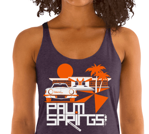 Palm Springs Swank City Women's Racerback Tank