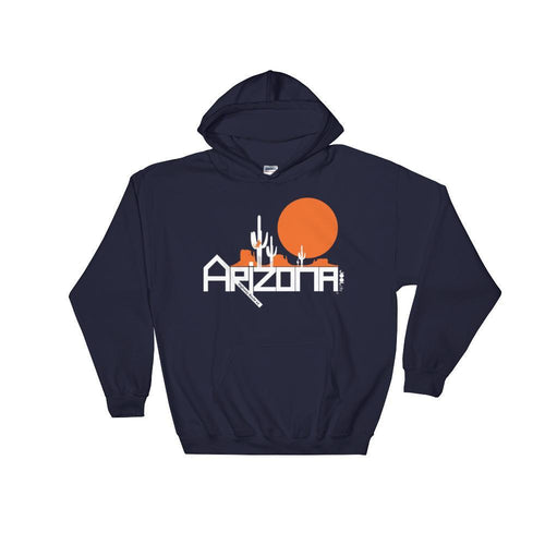 Arizona Cactus Crawlers Hooded Sweatshirt Hoodies Navy / 2XL designed by JOOLcity