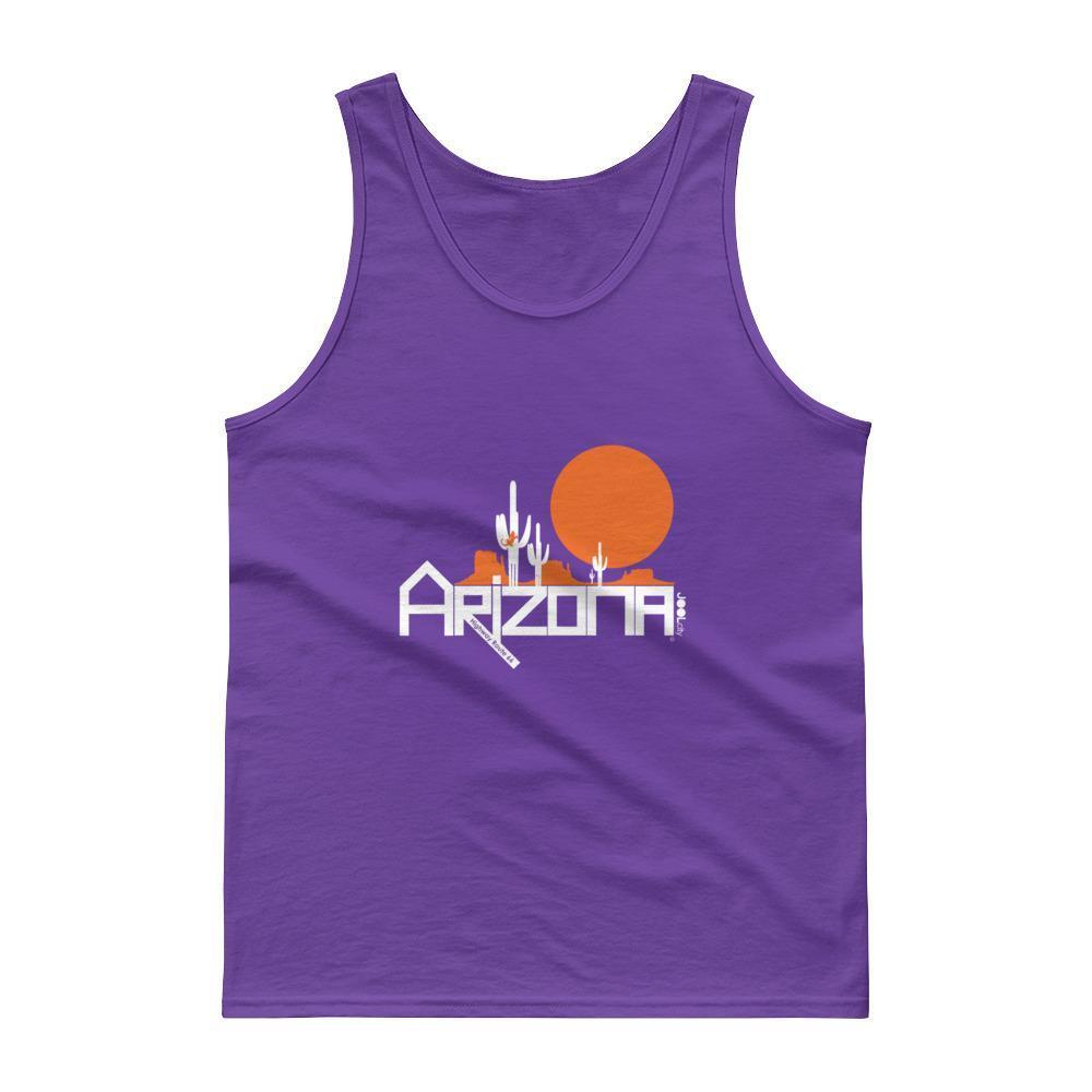 Arizona Cactus Crawlers Men's Tank Top Tank Tops Purple / 2XL designed by JOOLcity