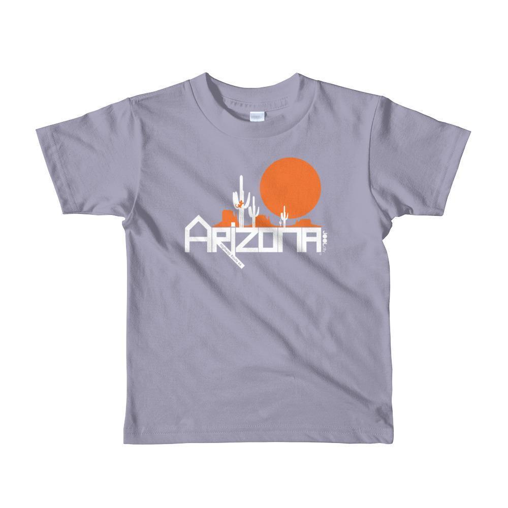 Arizona Cactus Crawlers Short Sleeve Toddler T-Shirt T-Shirts Slate / 6yrs designed by JOOLcity