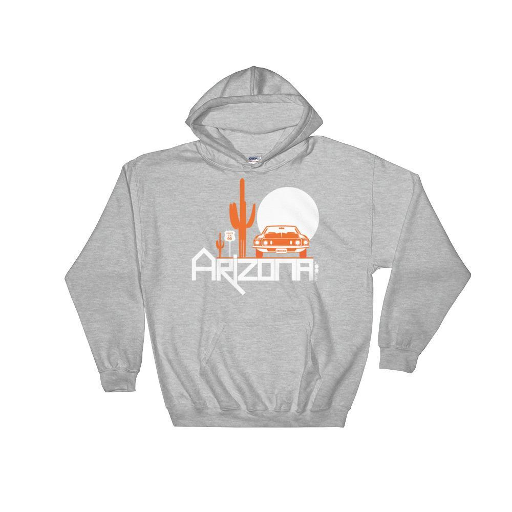 Arizona Cactus Cruise Hooded Sweatshirt Hoodies Sport Grey / 2XL designed by JOOLcity