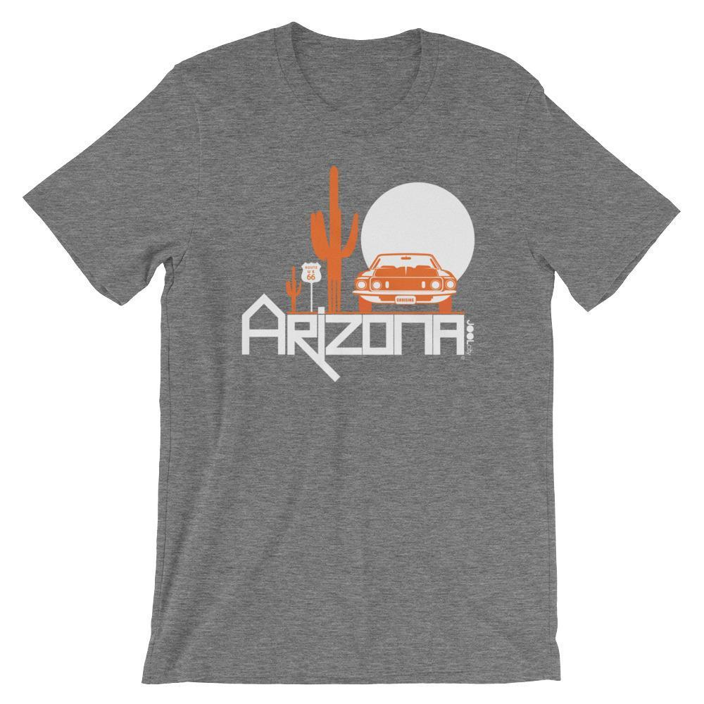 Arizona Cactus Cruise Short-Sleeve Men's T-Shirt T-Shirts Deep Heather / 2XL designed by JOOLcity