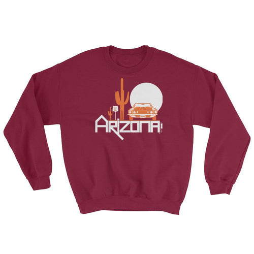Arizona Cactus Cruise Sweatshirt Sweatshirts Maroon / 2XL designed by JOOLcity