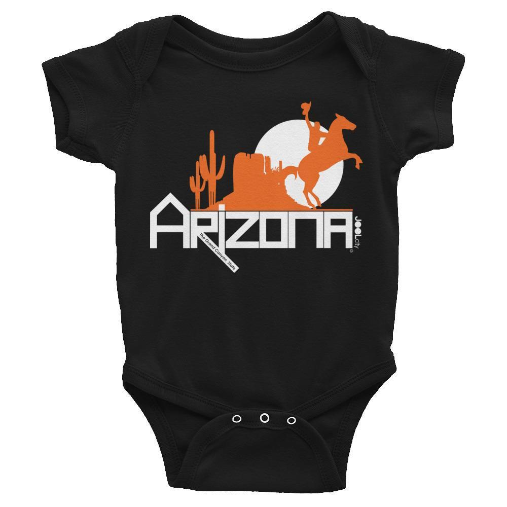 Arizona Cowboy Canyon Baby Onesie Onesies Black / 24M designed by JOOLcity