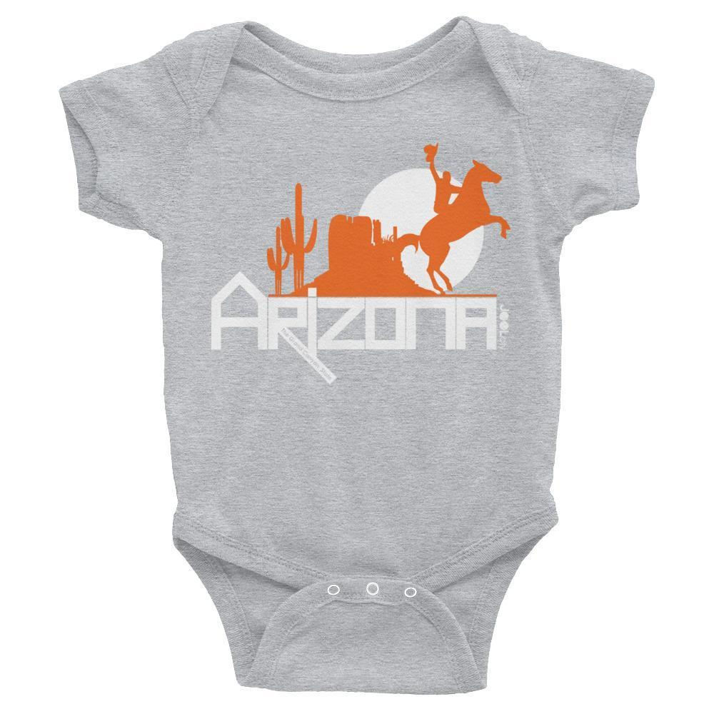 Arizona Cowboy Canyon Baby Onesie Onesies Heather / 24M designed by JOOLcity