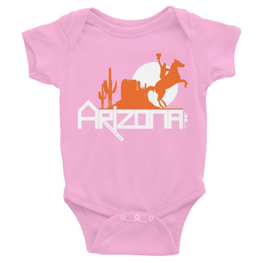 Arizona Cowboy Canyon Baby Onesie Onesies Pink / 24M designed by JOOLcity