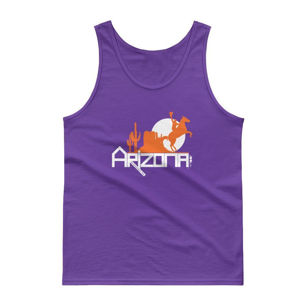 Arizona Cowboy Canyon Men's Tank top Tank Tops Purple / XL designed by JOOLcity
