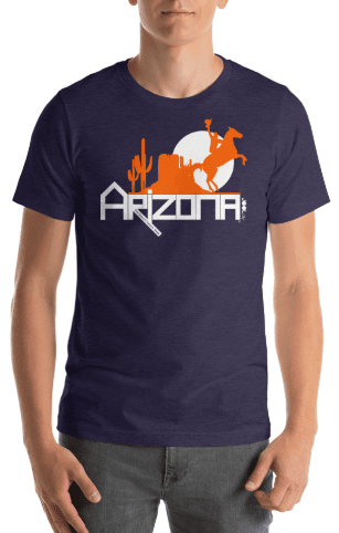Arizona Cowboy Canyon Short-Sleeve Men's T-Shirt T-Shirts  designed by JOOLcity
