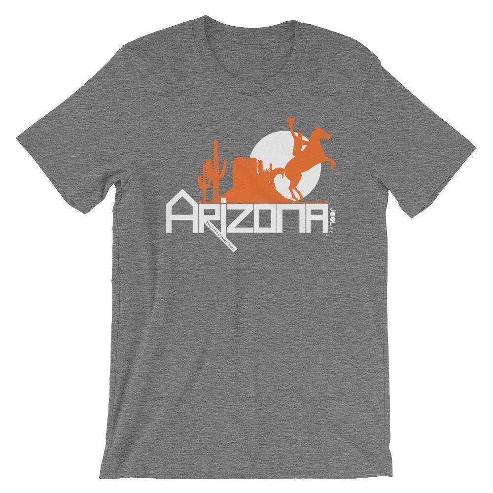 Arizona Cowboy Canyon Short-Sleeve Men's T-Shirt T-Shirts Deep Heather / 2XL designed by JOOLcity