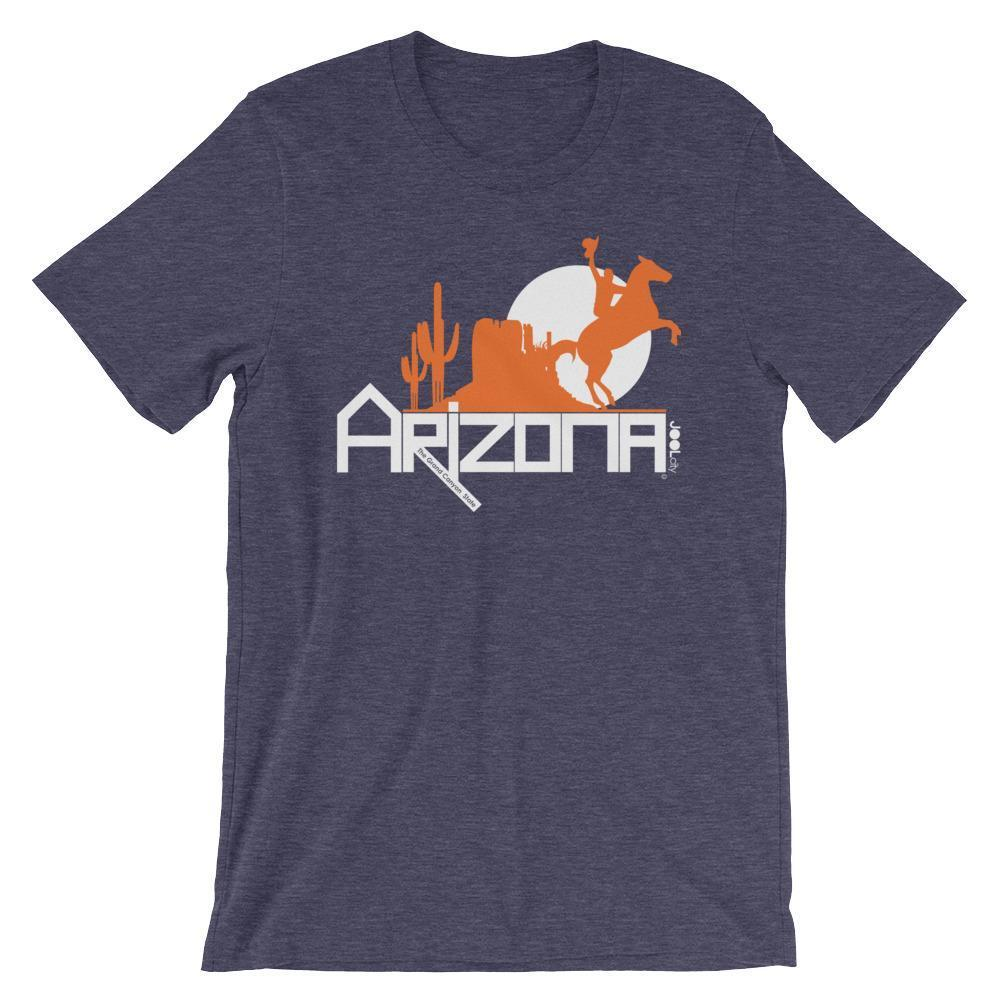 Arizona Cowboy Canyon Short-Sleeve Men's T-Shirt T-Shirts Heather Midnight Navy / 2XL designed by JOOLcity