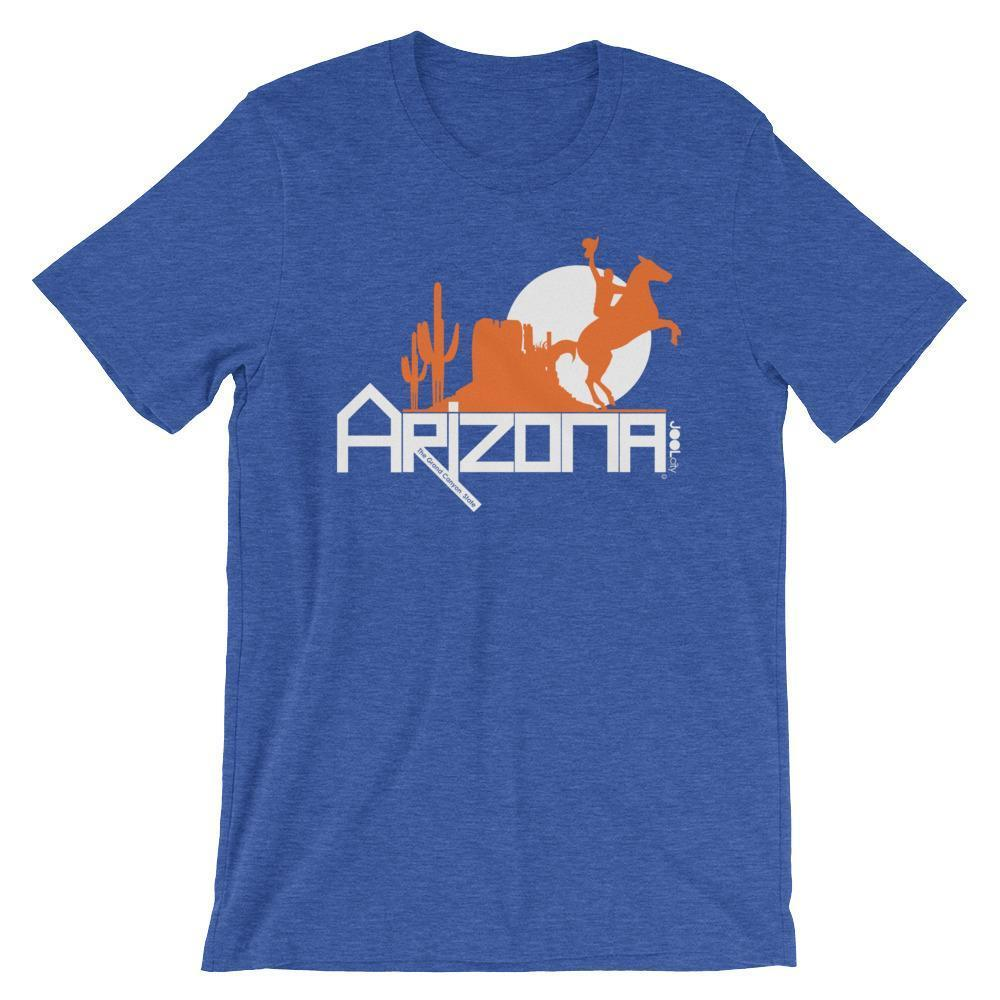 Arizona Cowboy Canyon Short-Sleeve Men's T-Shirt T-Shirts Heather True Royal / 2XL designed by JOOLcity