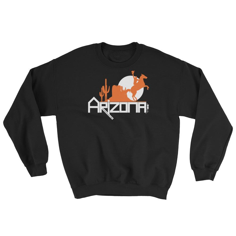 Arizona Cowboy Canyon Sweatshirt Sweatshirts Black / 2XL designed by JOOLcity