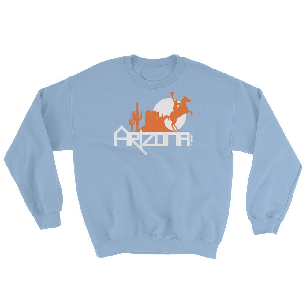 Arizona Cowboy Canyon Sweatshirt Sweatshirts Light Blue / 2XL designed by JOOLcity