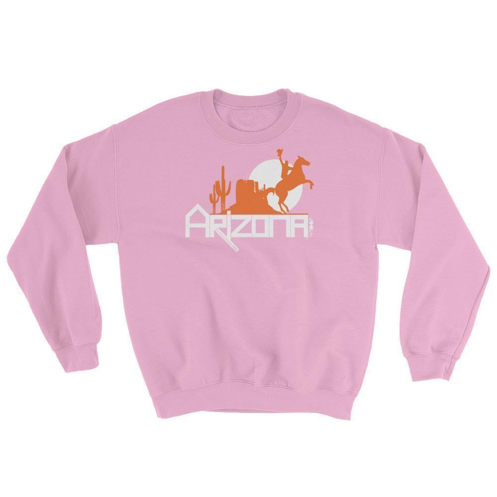Arizona Cowboy Canyon Sweatshirt Sweatshirts Light Pink / 2XL designed by JOOLcity