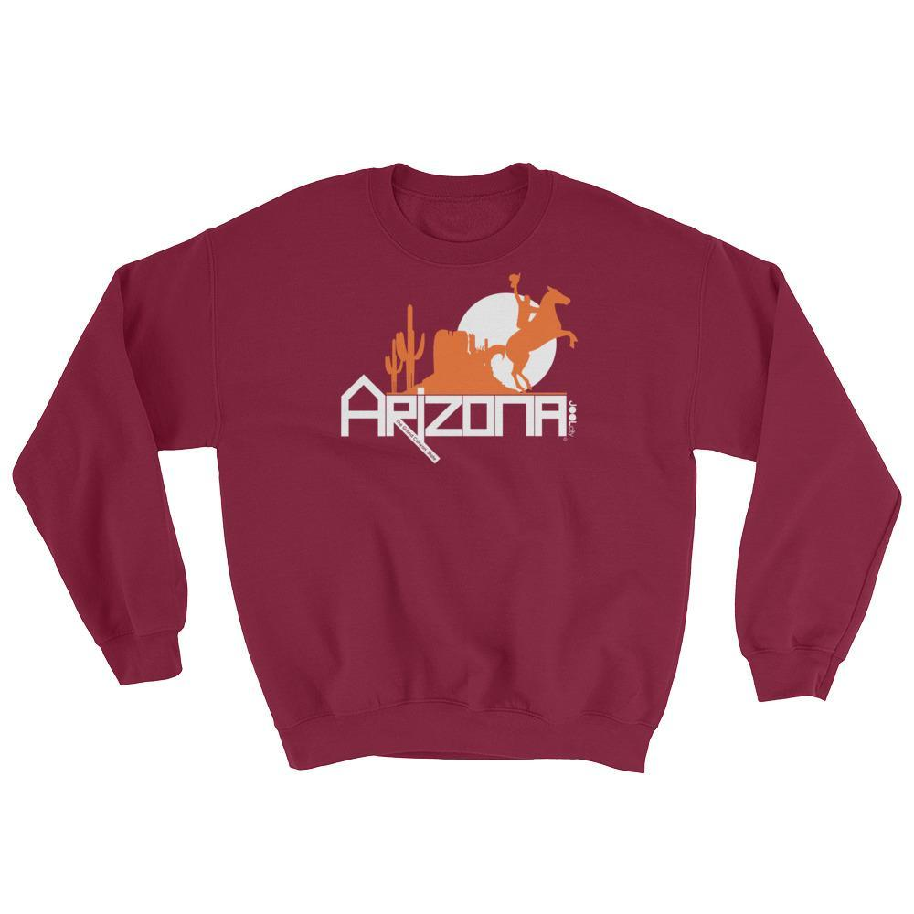 Arizona Cowboy Canyon Sweatshirt Sweatshirts Maroon / 2XL designed by JOOLcity
