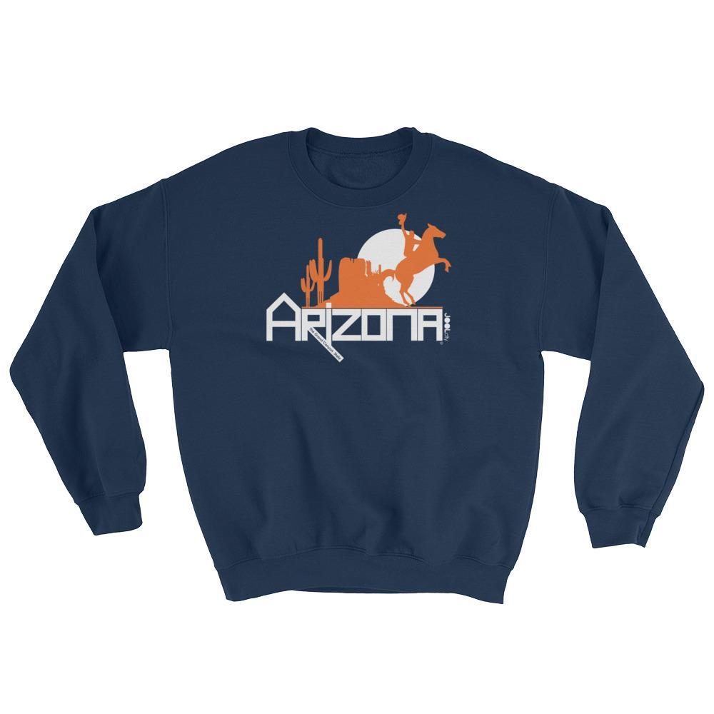 Arizona Cowboy Canyon Sweatshirt Sweatshirts Navy / 2XL designed by JOOLcity