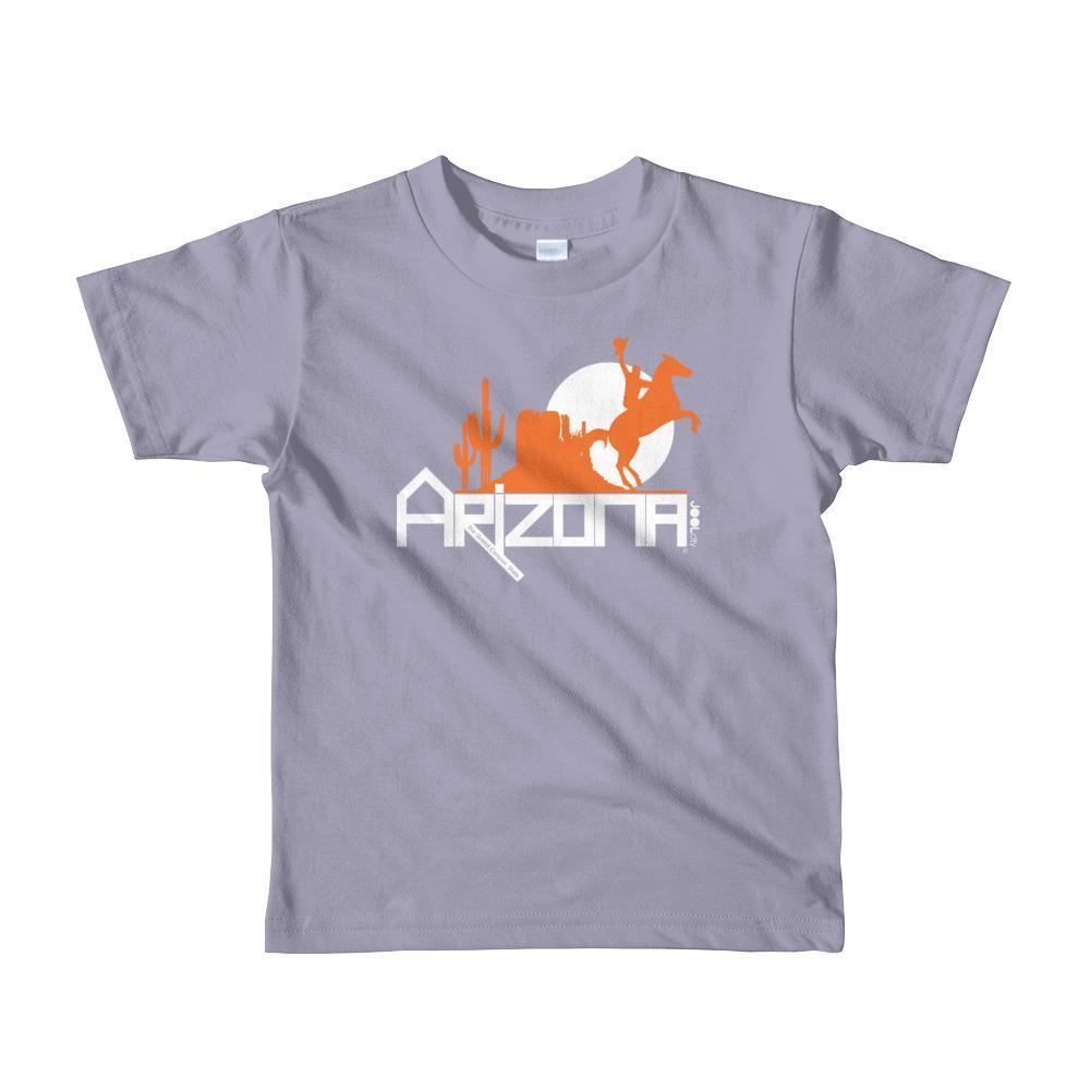Arizona Cowboy Canyon Toddler Short Sleeve T-shirt T-Shirts Slate / 6yrs designed by JOOLcity