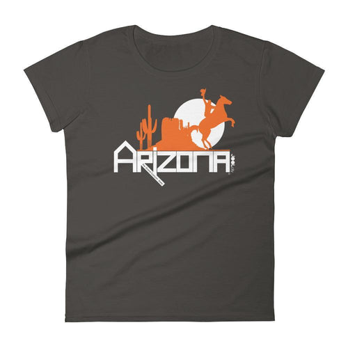 Arizona Cowboy Canyon Women's Short Sleeve T-shirt T-Shirts Smoke / 2XL designed by JOOLcity