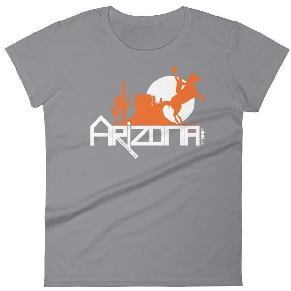 Arizona Cowboy Canyon Women's Short Sleeve T-shirt T-Shirts Storm Grey / 2XL designed by JOOLcity