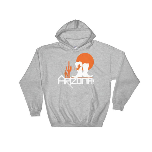 Arizona Desert Booties Hooded Sweatshirt Hoodies Sport Grey / 2XL designed by JOOLcity