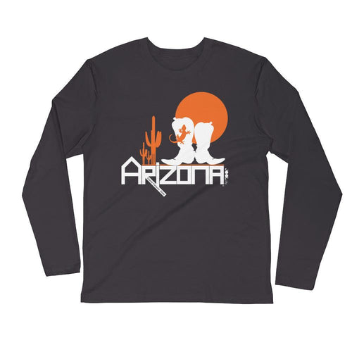 Arizona Desert Booties Long Sleeve Men's T-Shirt Long Sleeve Shirts 2XL designed by JOOLcity