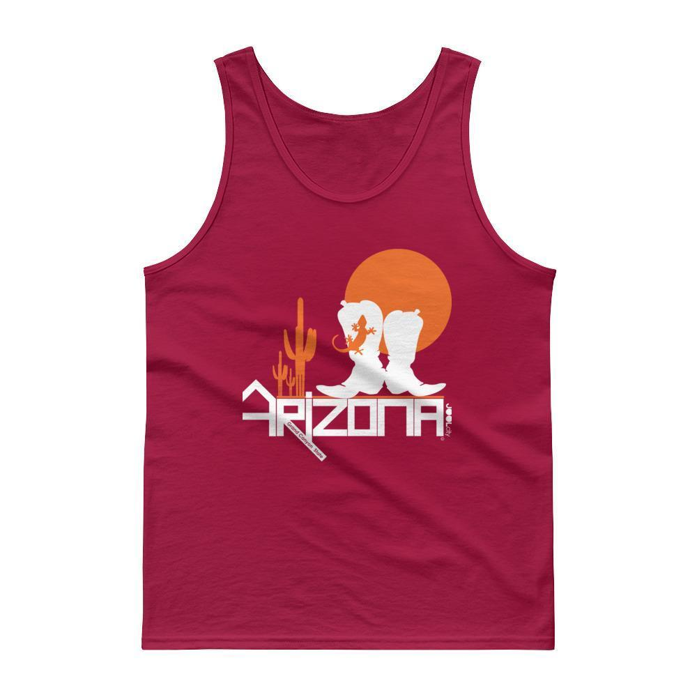 Arizona Desert Booties Men's Tank Top Tank Tops Cardinal Red / 2XL designed by JOOLcity