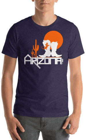 Arizona Desert Booties Short-Sleeve Men's T-Shirt T-Shirts  designed by JOOLcity