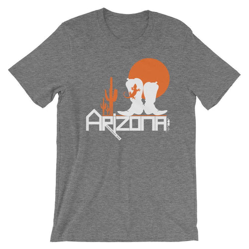 Arizona Desert Booties Short-Sleeve Men's T-Shirt T-Shirts Deep Heather / 2XL designed by JOOLcity